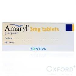 Glimepiride 3mg 30 Tablets