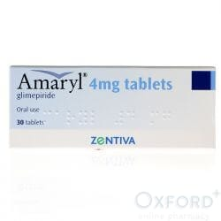 Glimepiride 4mg 30 Tablets