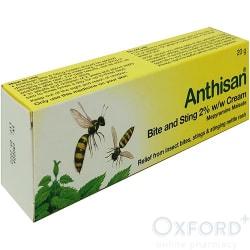 Anthisan Bite and Sting 2% Cream 20g