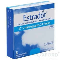 Estradot (Estradiol) 37.5mcg  8 Patches