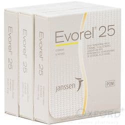 Evorel (Estradiol) 25mcg 24 Patches