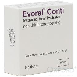 Evorel Conti (Estradiol/Norethisterone) 8 Patches