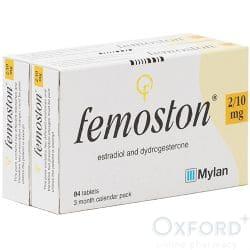 Femoston (Estradiol/Dydrogesterone) 2/10mg 168 Tablets