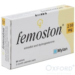 Femoston (Estradiol/Dydrogesterone) 2/10mg 84 Tablets
