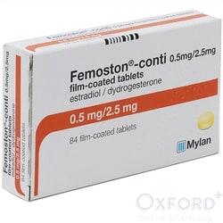 Femoston Conti (Estradiol/Dydrogesterone) Low Dose 500mcg 84