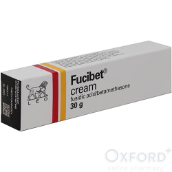 Fucibet (Fusidic Acid/Betamethasone) Cream 30g