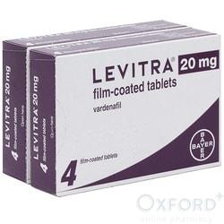 Levitra (Vardenafil) 20mg 8 Tablets