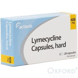 Lymecycline 408mg 28 Capsules