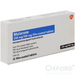 Malarone Adult  12 Tablets