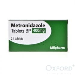 Metronidazole 400mg For Trichomoniasis 14 Tablets