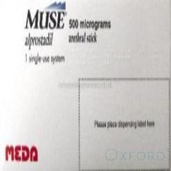 Muse (Alprostadil) 500mcg 1 Pellets