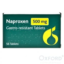 Naproxen 500mg 168 Gastro-Resistant Tablets