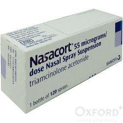 Nasacort (Triamcinolone) 55mcg Nasal Spray 120 Doses