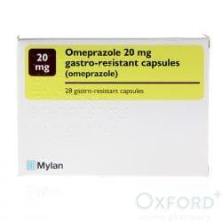 Omeprazole 20mg Gastro-Resistant 84 Capsules