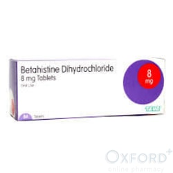 Betahistine 8mg 84 Tablets