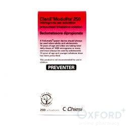 Clenil Inhaler (Beclometasone Dipropionate) 250mcg 200 Dose's