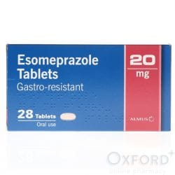 Esomeprazole 20mg Gastro-Resistant 28 Capsules