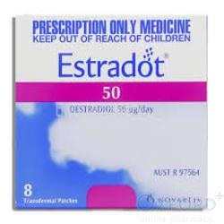Estradot (Estradiol) 50mcg 8 Patches