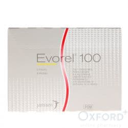 Evorel (Estradiol) 100mcg 24 Patches