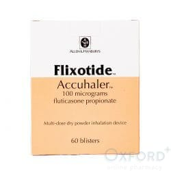 Flixotide Accuhaler (Fluticasone Propionate) 100mcg 60 Dose's