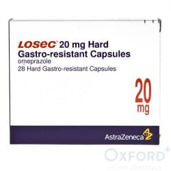 Losec (Omeprazole) 20mg Gastro-Resistant 84 (3x28) Capsules