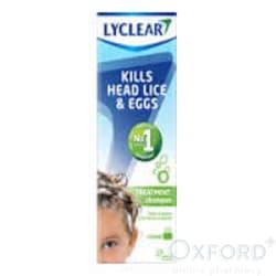 Lyclear Headlice Treatment Shampoo 200ml