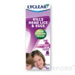 Lyclear Headlice Treatment Spray 100ml