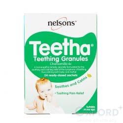 Nelson's Teetha Teething Granules 24 Sachets