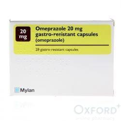 Omeprazole 20mg Gastro-Resistant 28 Capsules