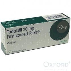 Tadalafil (Generic Cialis) 20mg 64 Tablets