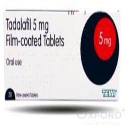 Tadalafil (Generic Cialis) 5mg 28 Tablets