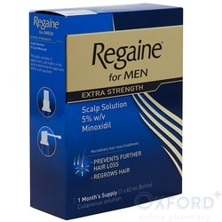Regaine For Men Extra Strength Scalp Solution 60ml