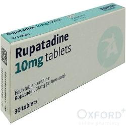 Rupatadine 10mg tablets 30 antihistamine