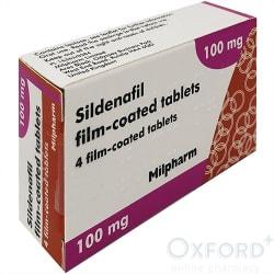 Sildenafil 100mg 4 Tablets