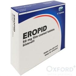 Sildenafil generic 50mg tabs 4pk  (generic Viagra Connect)