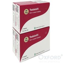 Tadalafil (Generic Cialis) 20mg 16 Tablets