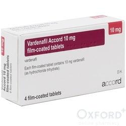 Vardenafil (Generic Levitra) 10mg 8 Tablets