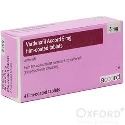 Vardenafil (Generic Levitra) 5mg 16 Tablets