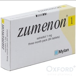 Zumenon (Estradiol) 1mg 84 Tablets