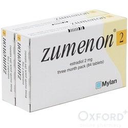 Zumenon (Estradiol) 2mg 168 Tablets