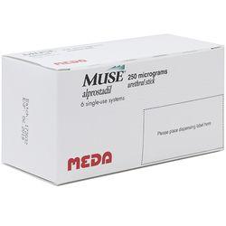 Muse (alprostadil) Pellets