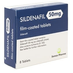 Sildenafail 100mg 32 Tablets