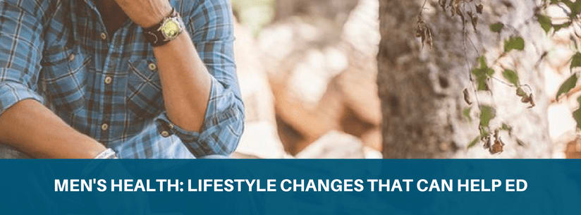 Lifestyle changes that can help ED