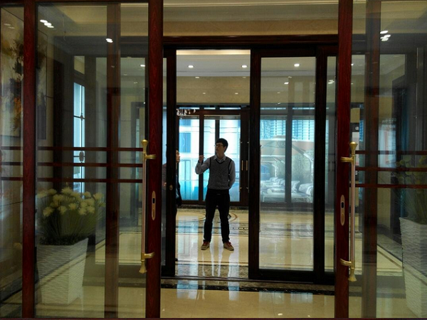 Smart glass door and windowelectrical curtain privacy smart whenever wanted privacy protecting is the biggest selling point of the smart glass there is not much difference between normal and smart glass door and planetlyrics Gallery