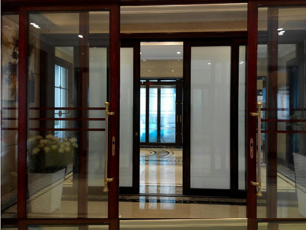 There is not much difference between normal and smart glass door and windows from the appearance but only the smart ... & Smart glass door and window(electrical curtain) - Privacy Smart ...