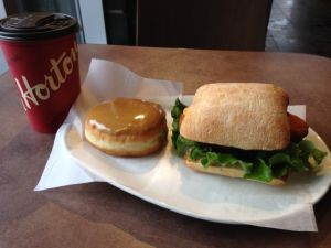 Lunch at Tim Hortons