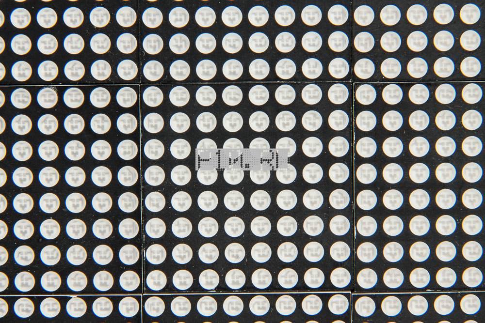 Светодиодный модуль P4.75 Красный Hoozoe