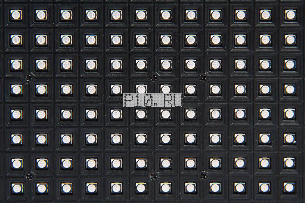 Светодиодный модуль P7.62 Полноцветный SMD 244X244 Qiangli
