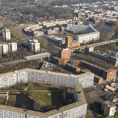 De H-buurt in de Amsterdamse Bijlmer