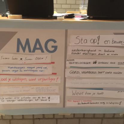 Samenwerken aan de Maatschappelijke agenda van Hardinxveld-Giessendam (MAG).
